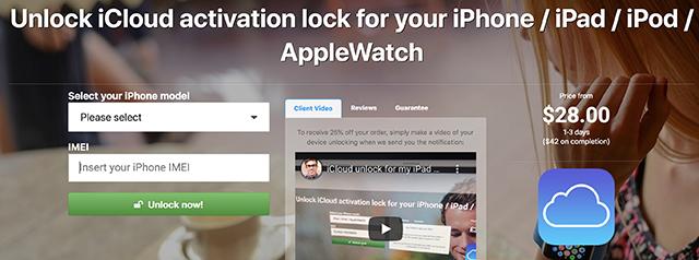 DoctorUnlock to Bypass iCloud Lock