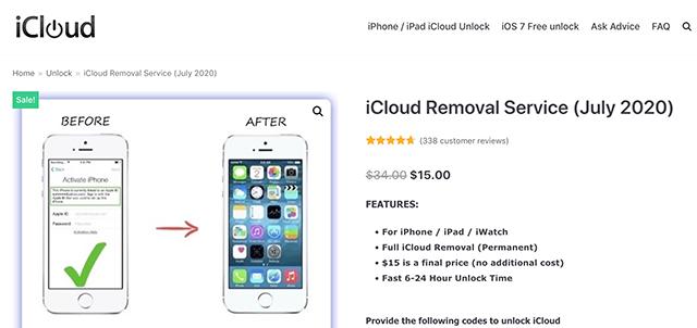 iCloudOnOff an Affordable iCloud Unlock Tool