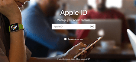 iCloud ID Recovery On Apple Website