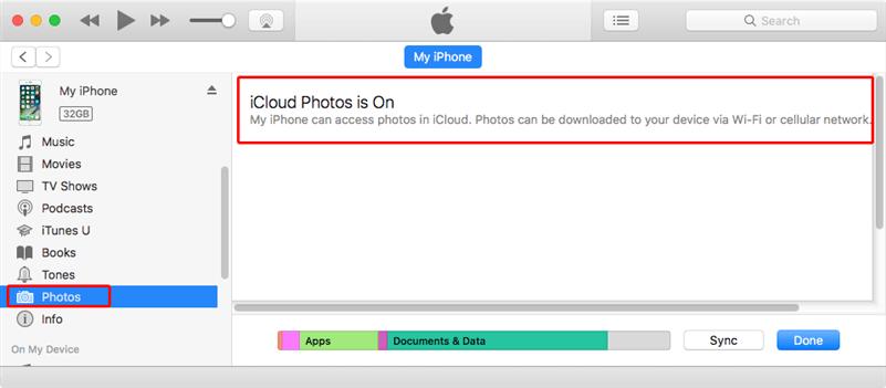 Fix iCloud Photos is On Error