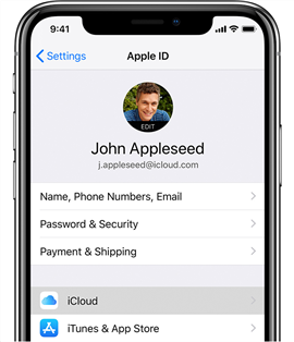 Backup iPhone with iCloud