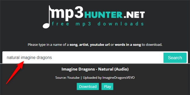 Free Download Natural MP3 to Computer - MP3hunter