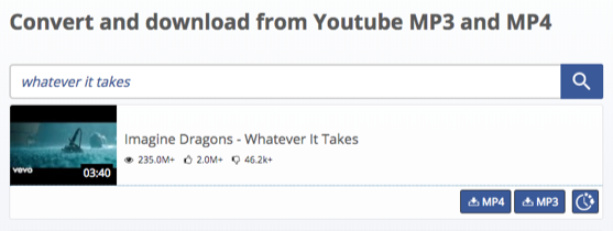 Imagine Dragons Whatever It Takes Download – via Savetomp3