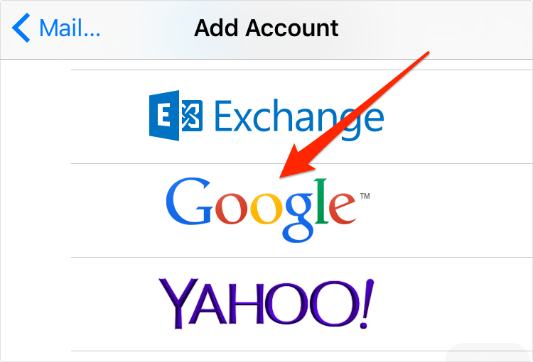 How to Transfer Google Contacts to iPhone 6 – Step 3