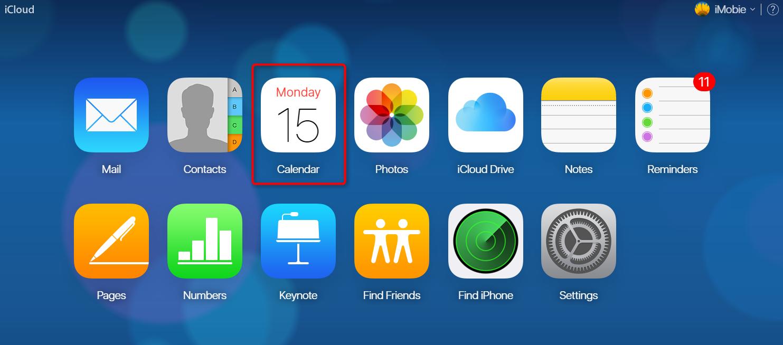 How to Add iCloud Calendar to Google - Step 1