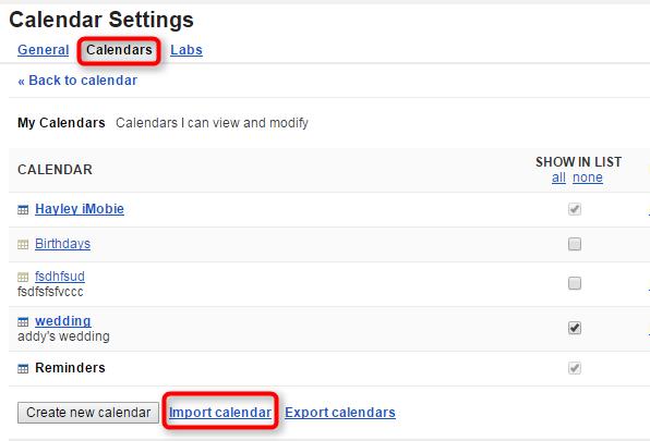 How to Add iCloud Calendar to Google - Step 5