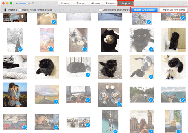 How to Upload Photos from iPhone to Mac with Photos App