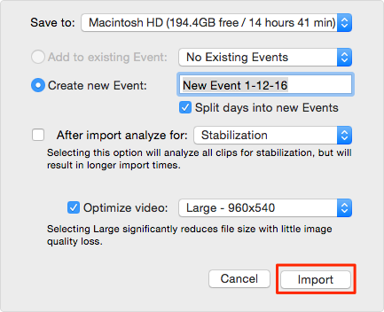 How to Import Videos from iPhone to iMovie – Step 3