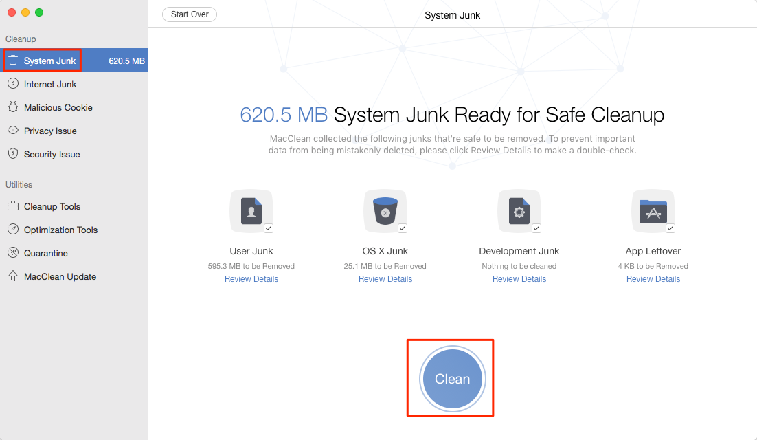 Improve Your Mac with MacClean – Remove System Junks