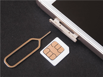 Eject and Put Back the SIM Card into the iPhone