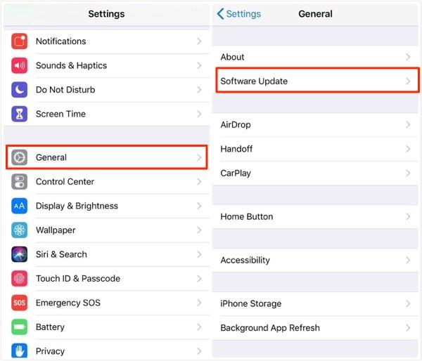 Install iPadOS on iPad