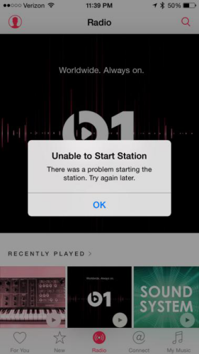 iOS 11.2/11.1/11 Bugs - Apple Music Problem Unable to play music