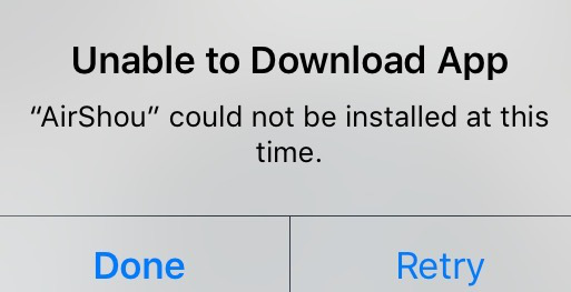 iOS 11.1/11 Problems - Unable to Download App