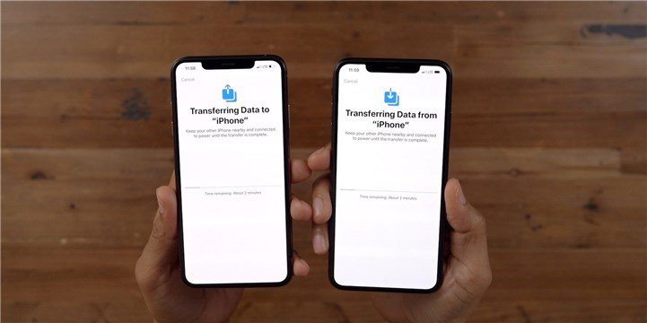 Switching Data between Two iPhone