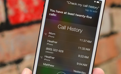 how to recover call history on iphone 6
