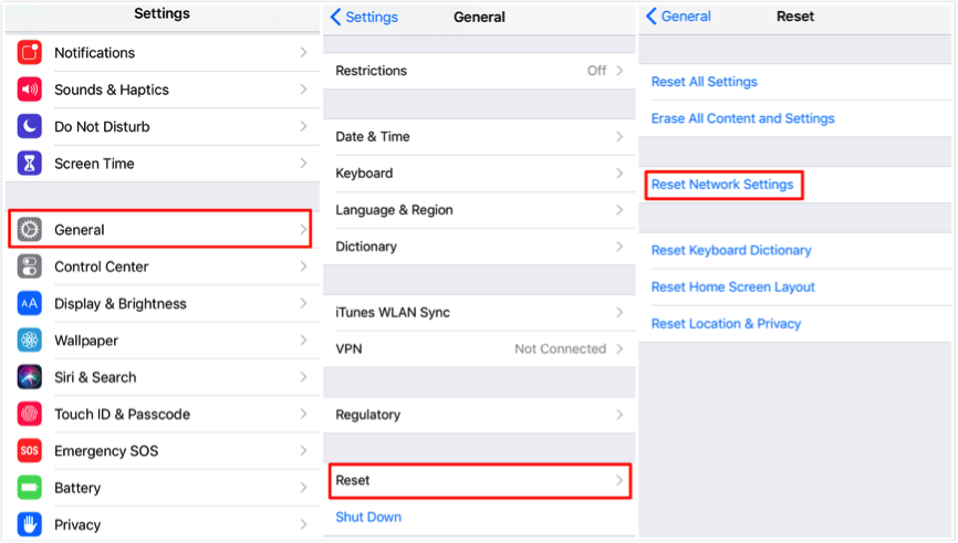 Fix: iOS 12/12.1 Notifications Not Working – Reset Network Settings