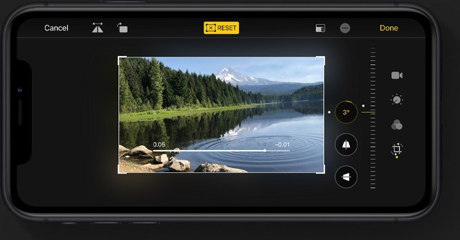 iOS 13 Video Editing