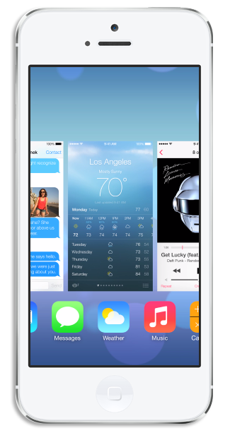 iOS 7 Multitasking