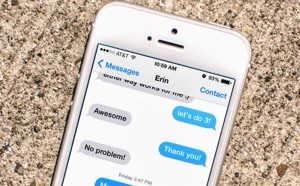 Print Text Messages from iPhone