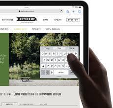 iPadOS New Feature - Keyboard