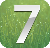iOS 7 on iPhone 5s
