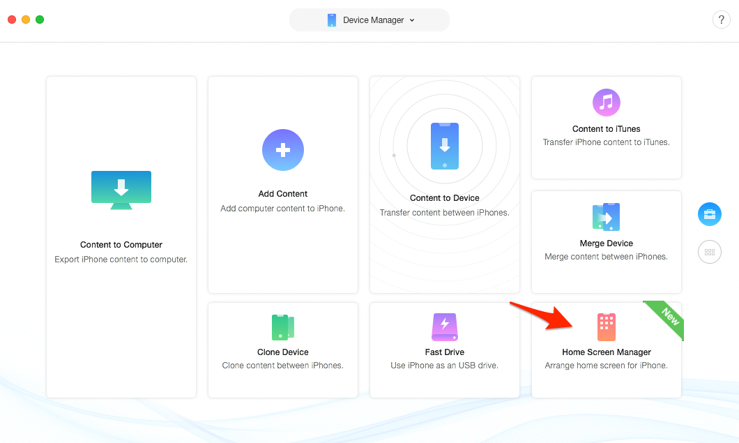 Arrange iPhone App Layout