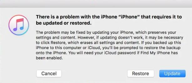 DFU Mode to Restore iPhone