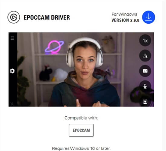 Install EpocCam on your Computer