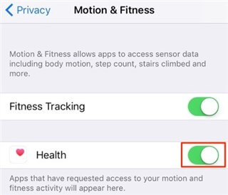 How to Fix iPhone Health App Not Working