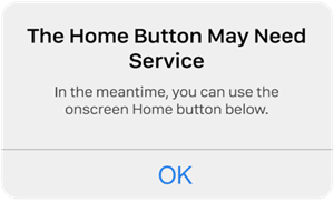 iPhone Home Button Not Responding