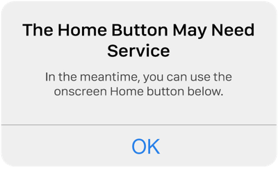 iPhone Home Button Not Responding)