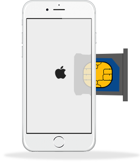 how to get a sim card into iphone