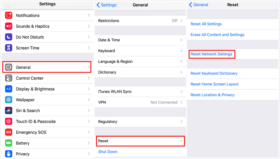 Fix iPhone/iPad Not Connecting to Wi-Fi – Reset Network Settings