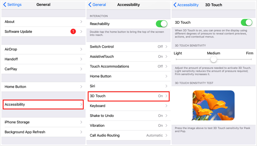 Fix: iPhone/iPad Screen Not Responding to Touch – Adjust 3D Touch