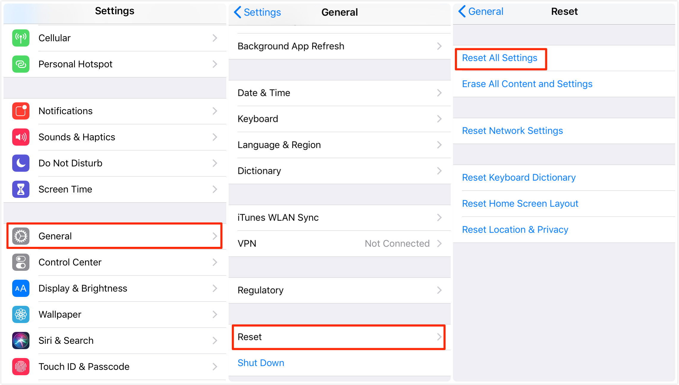 Fix: iPhone/iPad Screen Not Responding to Touch – Reset All Settings