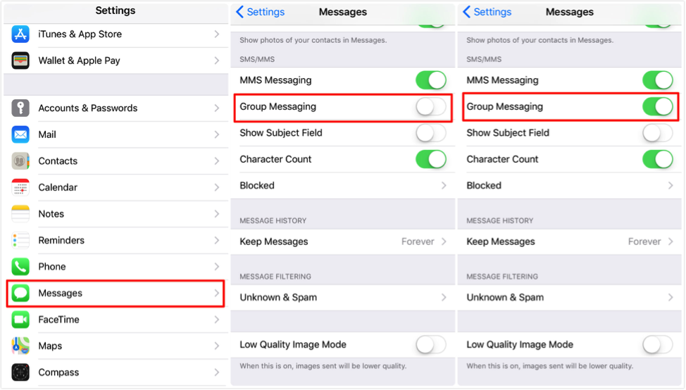 Fix: iPhone Not Receiving Group Messages – Enable Group Messaging