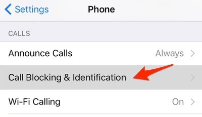 Fix iPhone Not Showing Missed Calls – Remove Call Blocking Numbers