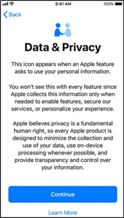 iPhone Data Privacy