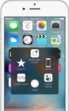 How to Fix Silent Switch Not Working on iPhone via Assistive Touch - Step 3