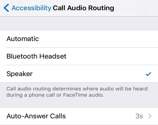 Fix iPhone Sound Not Working without Headphones via Call Audio Routing