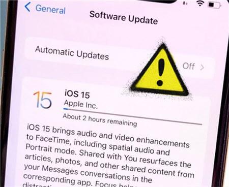 iPhone Stuck on Preparing Update iOS 15