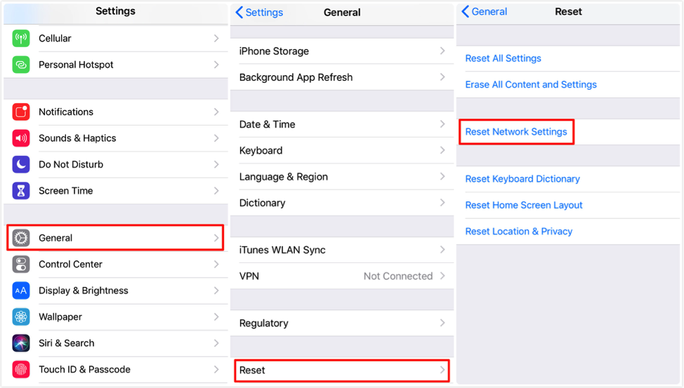 6 Tips] Fix: iPhone XS (Max)/XR/X/8/7/6/5 Wi-Fi Greyed Out