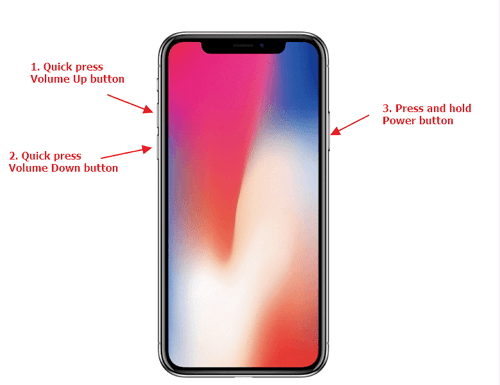 Fix iPhone X Incoming Call Display Delay by Force Restart