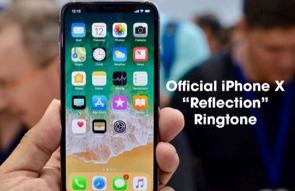iphone x ringtone – reflection скачать