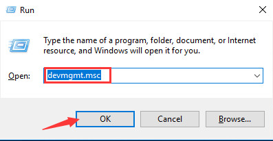 Open Device Manager in Windows 10–image from drivereasy.com