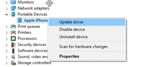 How to Fix iTunes Driver Not Installed Windows 10 Issue