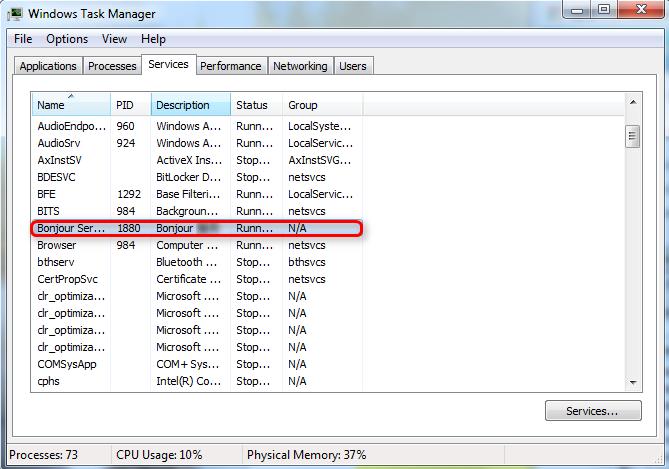 How to Fix iTunes Error 5105 - Stop Bonjour Service