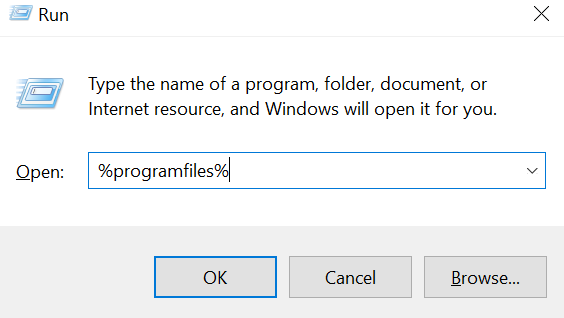 Delete Some Folders in Program Files