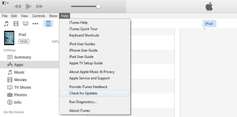 How to Fix iTunes Keeps Crashing on Windows/Mac via Update iTunes