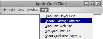 How to Fix iTunes Movie Not Playing via Update QuickTime Version